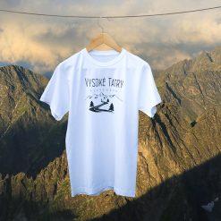 tričko vysoké tatry cesta turistika príroda hory