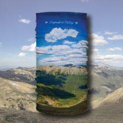 západné tatry multifunkčná šatka príroda turistika šport buff