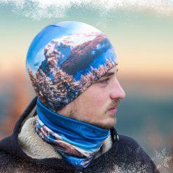 veľký rozsutec čiapka zima príroda hory turistika šport tatry fatra