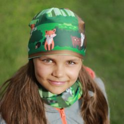 multifunkčná šatka kolekcia čiapka detská les vysoké tatry slovensko príroda turistika hory šport šál detský